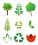 Stock Image : Environmental icons