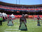 Stock Image :  49er αποκόπτω? ποδοσφαιριστής στάση στον τομέα σε FanFest