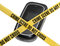 Stock Image : Escena del crimen móvil