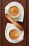 Stock Image : Espresso and Biscotti