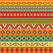 Stock Image : Ethnic strips motifs