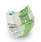 Stock Image : Euro banknotes