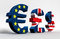 Stock Image : Euro Funtowy dolar