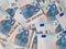Stock Image : Euro notes