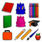 Stock Image : Everything You Need for School