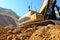 Stock Image : Excavator crawler digger