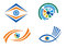 Stock Image : Eye icon