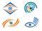 Stock Image : Eye icon