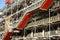 Stock Image : Facade of the Centre Pompidou in Paris