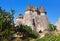 Stock Image : Fairy chimneys (rock formations) at Cappadocia Turkey