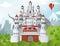 Stock Image : Fairytale castle
