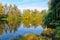 Stock Image : Fall on the Lake