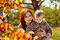 Stock Image : Family in fall