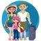 Stock Image : Family holidays