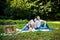 Stock Image : Family picnic