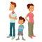 Stock Image : Family of three