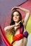 Stock Image : Fashion dancer