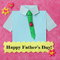 Stock Image : Fathers Day Card - Craft Background - Stock Photo