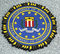 Stock Image : FBI emblem on fallen officers memorial in Brooklyn, NY