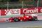 Stock Image : Felipe Massa (BRA) driving