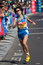 Stock Image : Female marathon runner