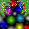 Stock Image : Festive background with the branches of christmas tree