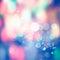 Stock Image : Festive Christmas background of defocused decorated xmas