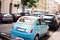 Stock Image : Fiat 500 on the Street