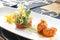 Stock Image : Fijne het dineren kammosselen