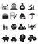 Stock Image : Finance Icon Set