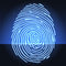 Stock Image : Fingerprint identification system