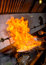 Stock Image : Fire of stir