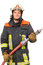 Stock Image : Firefighter