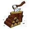 Stock Image : Firewood