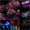 Stock Image : Firework Collage