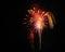 Stock Image : Fireworks