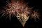 Stock Image : Fireworks display