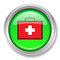 Stock Image : First Aid Kit Icon