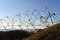 Stock Image : First world war Fort Douaumont barbed wire