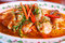 Stock Image : Fish fillet in dried red curry