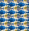 Stock Image : Fish pattern