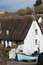 Stock Image : Cadgwith Cove Cottages Cornwall