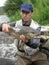 Stock Image : Fishing