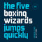 Stock Image : The five boxing wizards jump quickly. Modern font.
