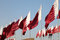 Stock Image : Flags of Qatar
