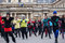 Stock Image : Flash mob dance in Paris