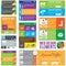 Stock Image : Flat Web Design elements
