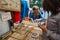Stock Image : Flea market Waterlooplein in Amsterdam