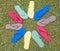 Stock Image : Flip-Flop Multi Color