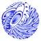 Stock Image : Floral circle